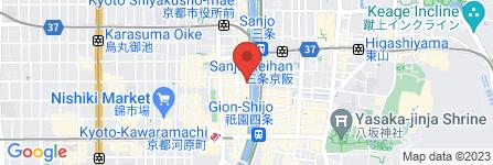 地図 お茶屋 初乃屋