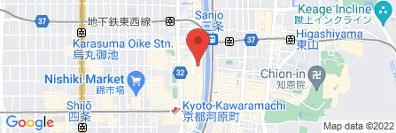 地図 KYOTO STAR BAR