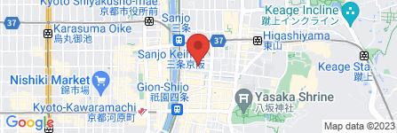 地図 古曽志運正堂