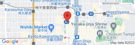 地図 ぶっち切り魚心 河原町店