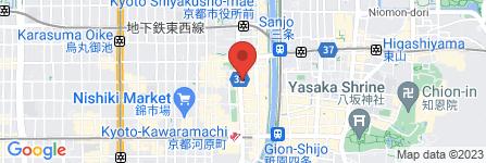 地図 焼肉・しゃぶしゃぶ  京都 美南