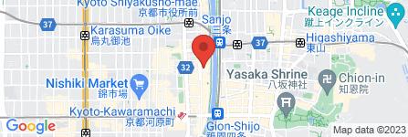 地図 木屋町ゴールデン酒場