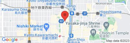 地図 bar moon walk 六角通り店