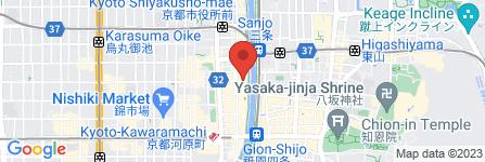 地図 おうち割烹 あや富 先斗町