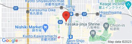 地図 さざんか亭 六角店