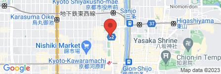 地図 cafeレストラン ガスト