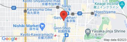 地図 先斗町禊川
