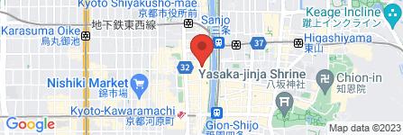 地図 居酒屋 いも松 木屋町本店