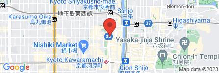 地図 梅園 河原町店