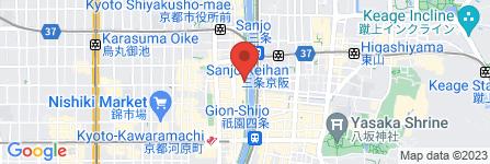 地図 先斗町 魯ビン