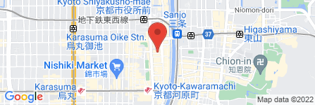 地図 文福茶釜のたぬき 六角店