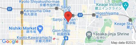 地図 セリカワ印判 縄手店
