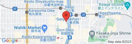 地図 先斗町 なる