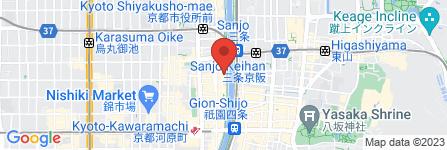 地図 BAR・C&D先斗町