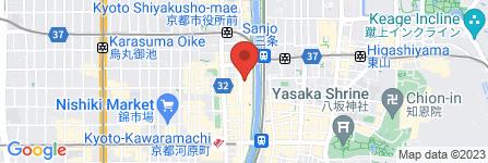 地図 さざんか亭 本店