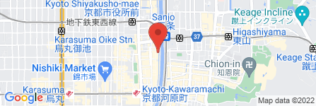 地図 先斗町 百練