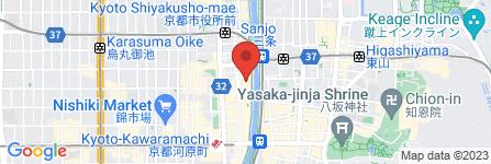 地図 お酒の美術館 先斗町店
