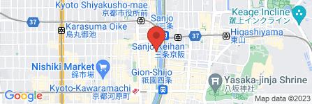 地図 Bar orange