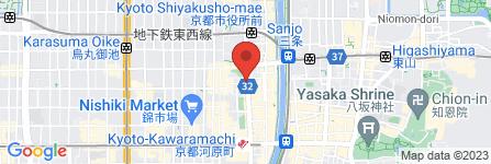 地図 イーズ ミーナ京都店