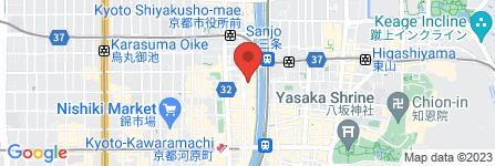 地図 kiyamachi jaws
