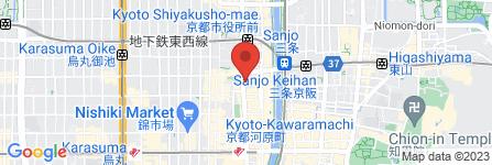 地図 ドレミドラッグ 河原町三条店