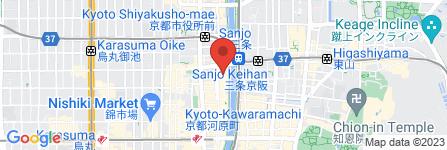 地図 先斗町松嶋屋ビル