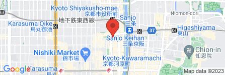 地図 野菜ダイニング 薬師(くすし)