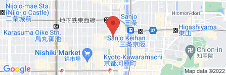 地図 六曜社 地下店