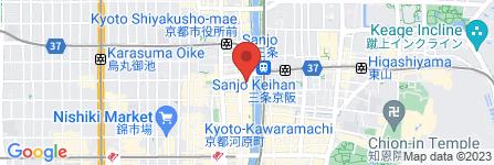 地図 三条 占いスポット