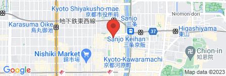 地図 焼肉・ホルモン安東