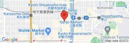 地図 VOX hall