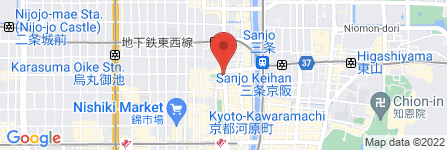 地図 アクセスチケット 京都三条店