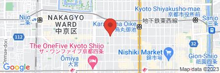 地図 ドコモショップ 四条河原町店