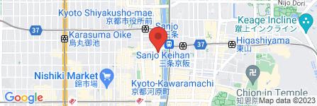 地図 餃子の王将 三条店