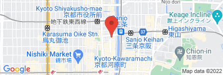 地図 京料理・創作和洋Dining 花・flower