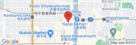 地図 コクミン 京都三条店