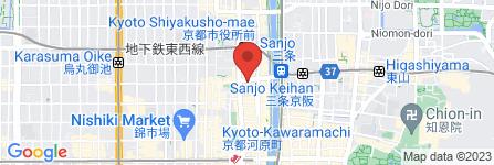 地図 Ichi 三条河原町店