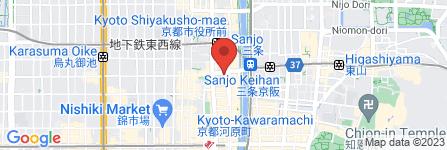 地図 ほぐしや 三条店
