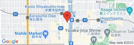 地図 高嶋易断 三世霊宝閣京都総本部