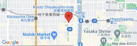 地図 First Line 河原町本店