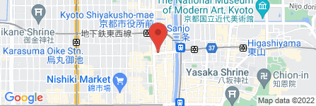 地図 公長齋小菅 京都本店