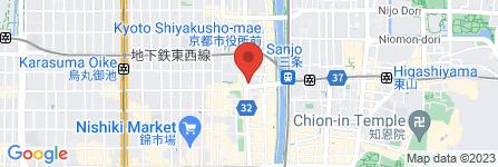 地図 きりしまフラワー 京都三条店