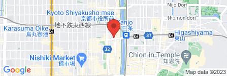 地図 街かど屋 河原町三条店