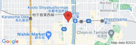 地図 京ほのか