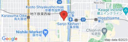 地図 三条個室別館 さんぱち