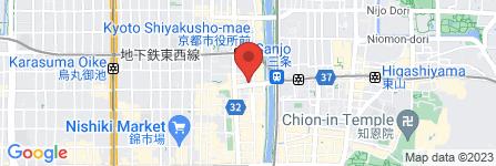 地図 魚民 京都三条店