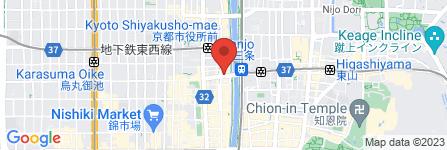 地図 どんぐり 三条木屋町店