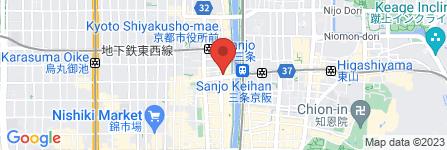 地図 アジアン・セラピー ハウス ルナシア 三条店