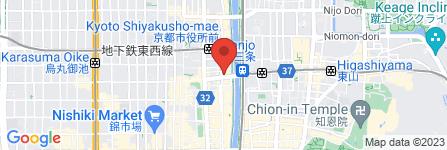 地図 鉄板焼&居酒屋 虎亭虎亭
