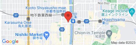 地図 がんこ 京都三条本店